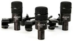 Audix D2 TRIO Drum Mic 3-Pack