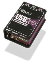 Radial USB Pro USB Laptop Direct Interface