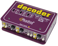 Radial Decoder™ Mid/Side Matrix and Mic Preamp