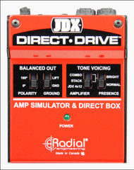 Radial JDX Direct-Drive Amp Simulator and DI box