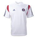 Chicago Fire White Pregame Training Size Adult XXS Jersey