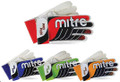 Size 8 Mitre Pro Flex Goalkeeper Gloves   Color: Black, White & Blue