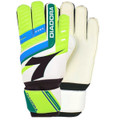 Size 6 Diadora Euro Goalkeeper Gloves   Color: Fluorescent Yellow, Blue and Green