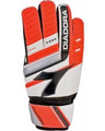 Size 9 Diadora Euro Goalkeeper Gloves   Color: Fluorescent Orange, Black and White