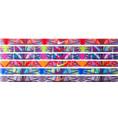 6 Pack Of Nike Designer Geometric Pattern Skinny Headbands