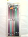 6 Pack Of Under Armour Plum, Green & Charcoal Fade Skinny Headbands