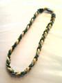 Green & Yellow O-Nits Titanium Necklace