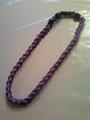 Purple O-Nits Titanium Necklace