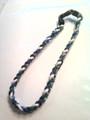 Blue, Green & White O-Nits Titanium Necklace