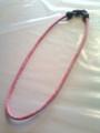 Pink Titanium Necklace