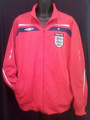 ENGLAND CLASSIC RED ADULT XXL WARM UP JACKET COAT