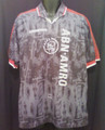 AJAX Vintage 1996 1997 Adult XL Away Jersey With Sublimated Netherlands Design