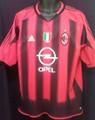 AC Milan Classic 2004 2005 Home Adult XL Jersey