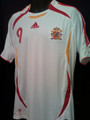 Torres Spain 2004 2006 World Cup Adult XL Away Jersey
