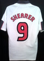Shearer Vintage 1997 1999 England Home Jersey Size XL