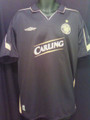 Celtic Classic Vintage 2003 2004 Black and Gold Away XL Jersey