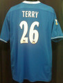 Terry Chelsea 2003 2005 Reversible Home XL Jersey With Felt Barclaycard Premiership Patches - Sharp!