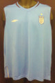 England Classic Blue Sleeveless Training Adult XL Jersey