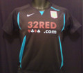 Aston Villa Classic Black & Teal Youth M Size 10/12 Away Jersey