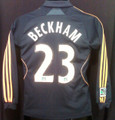 Beckham Los Angeles LA Galaxy 2008 2009 Youth Small Long Sleeve Jersey