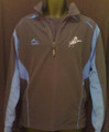 MILLWALL NAVY & SLATE BLUE ADULT S PULLOVER WARM UP JACKET
