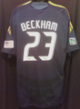 Beckham Los Angeles LA Galaxy Classic 2009 2011 XXL Away Jersey With American Flag  and MLS Patches