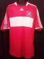 Chicago Fire Vintage 2008 2009 Red Size Adult XL Home Jersey