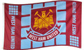 WEST HAM UNITED FLAGS