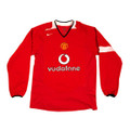 Manchester United 2004 2006 Long Sleeve Size Youth XL Home Jersey