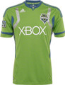 Seattle Sounders 2011 2012 Youth Lime Away Jerseys