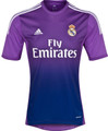 Casillas Real Madrid 2013 2014 Purple Gradient Size Adult S Goalkeeper Jersey Striking In Person