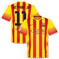Neymar Barcelona 2013 2014 Away Jersey Size Adult Large