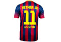 Neymar Barcelona 2013 2014 Home Size Adult M Player Edition Jersey