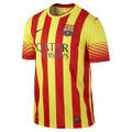 Messi Barcelona 2013 2014 Player Edition Away Jerseys