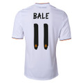 Bale Real Madrid 2013 2014 White Home Adult L Jersey