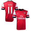 Ozil Arsenal 2013 2014 Home Player Edition Jerseys