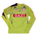 Ulreich VfB Stuttgart Lime Graphic Adult S Goalkeeper Jersey