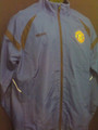 MANCHESTER UNITED ROYAL BLUE WARM UP JACKET COAT