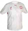 Poland White Size Adult M Home Jersey