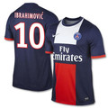 IBRAHIMOVIC PARIS SAINT GERMAIN PSG 2013 2014 HOME JERSEY SIZE ADULT LARGE