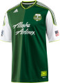 Portland Timbers 2011 Forest Green Size Adult XL Home Jersey