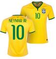 Neymar Brasil Brazil 2014 World Cup Size Adult L Home Jersey