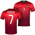 RONALDO 2014 WORLD CUP PORTUGAL HOME PLAYER EDITION JERSEY