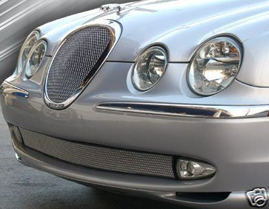 jaguar s type bumper lower mesh grille grill s type. Black Bedroom Furniture Sets. Home Design Ideas