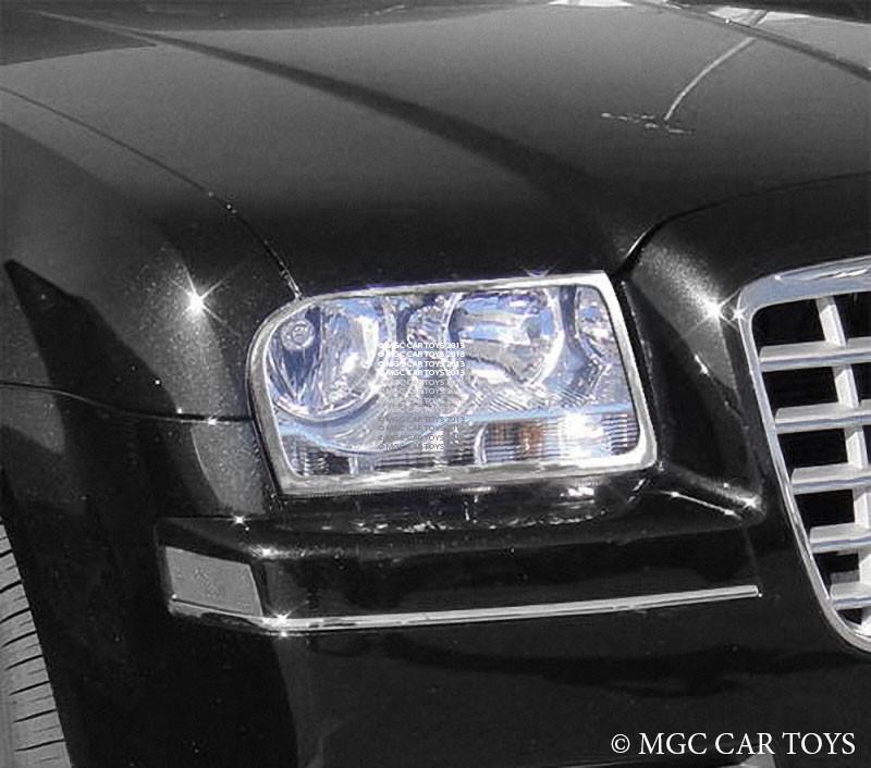 Chrysler 300 05-10 High Quality Headlight Chrome Trim