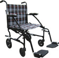 Transport Chair 17 Pound Fly-Lite Aluminum