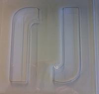 Jumbo Letter Mould J