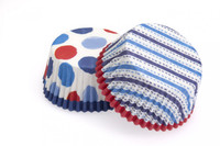 Cupcake Cases - Stars & Flags Pkt 24