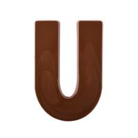 Jumbo Letter Mould U