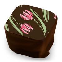 Transfer Sheet Tulip - Fuchsia, Rose & Sage Green
